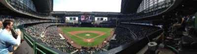 Miller Park, section: 330, row: 1, seat: 1