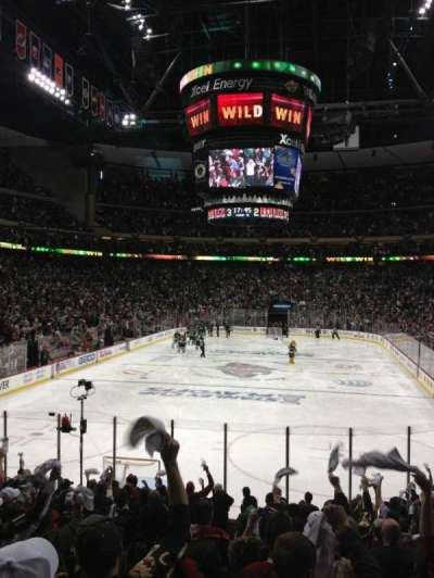 Xcel Energy Center, section: 109, row: 17, seat: 14