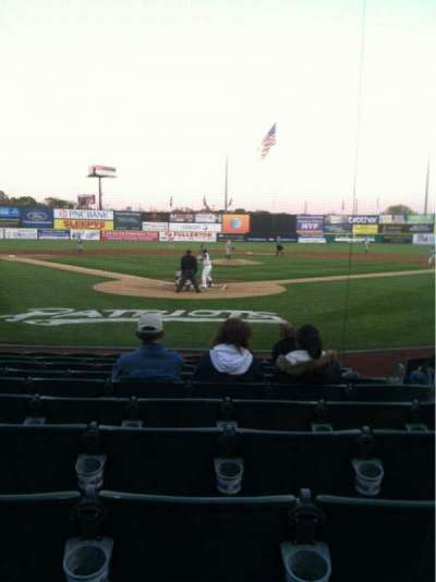 TD Bank Ballpark, section: 101, row: J, seat: 4