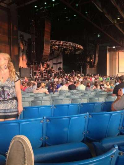 Gexa Energy Pavilion, section: 102, row: Z, seat: 33