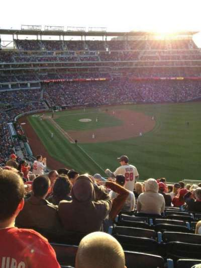 Nationals Park, section: 230, row: S, seat: 8