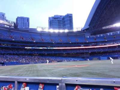 Rogers Centre, section: 115L, row: 1, seat: 107