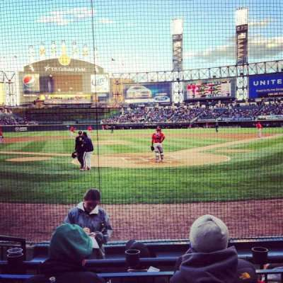 Guaranteed Rate Field, section: 133S, row: 5, seat: 3