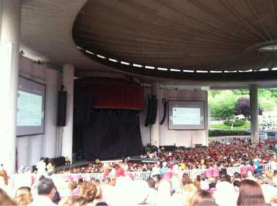 PNC Bank Arts Center, section: 405, row: G, seat: 27