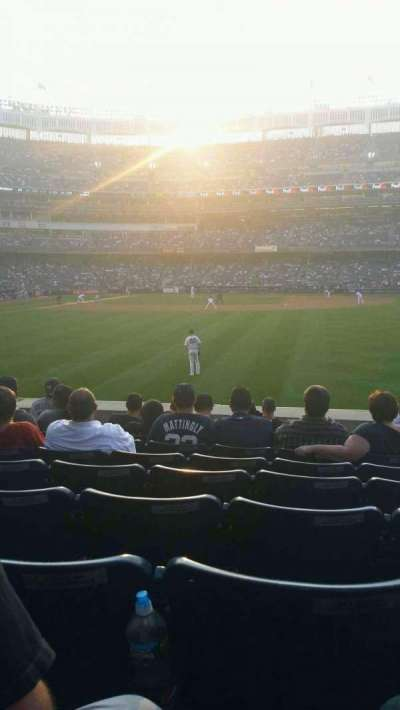 Yankee Stadium section 104