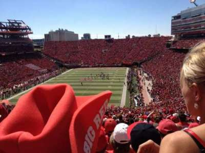 Memorial Stadium, section: 35, row: 89, seat: 11