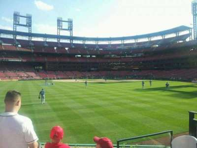 Busch Stadium, section: 593, row: 3, seat: 1