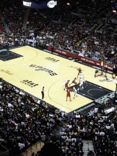 AT&T Center section 220