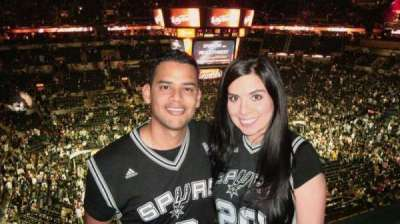 AT&T Center, section: 226, row: 2, seat: 14