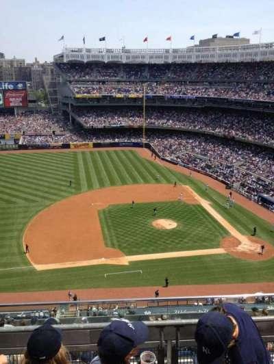 Yankee Stadium, section: 425, row: 3, seat: 2