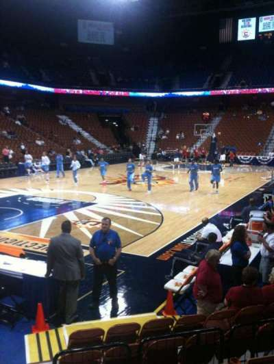 Mohegan Sun Arena, section: 18, row: G, seat: 13