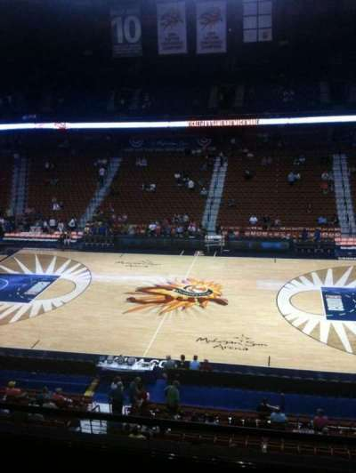 Mohegan Sun Arena, section: 117, row: E, seat: 7