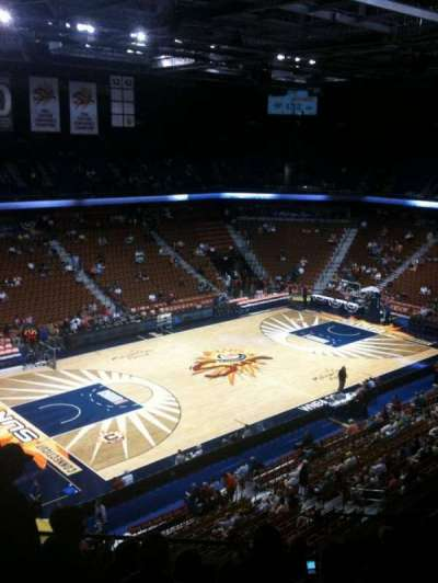 Mohegan Sun Arena, section: 120, row: J, seat: 9