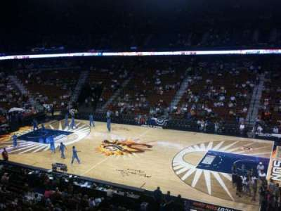 Mohegan Sun Arena, section: 105, row: C, seat: 8