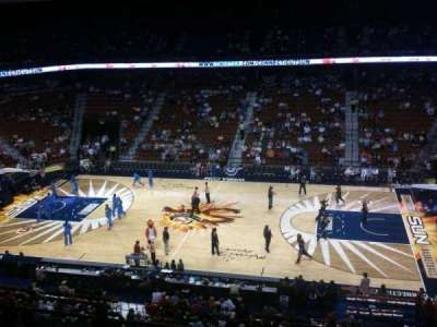Mohegan Sun Arena, section: 106, row: H, seat: 3