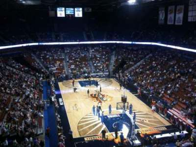 Mohegan Sun Arena, section: 113, row: K, seat: 7