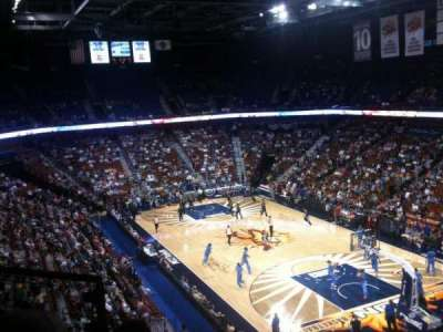 Mohegan Sun Arena, section: 114, row: F, seat: 7