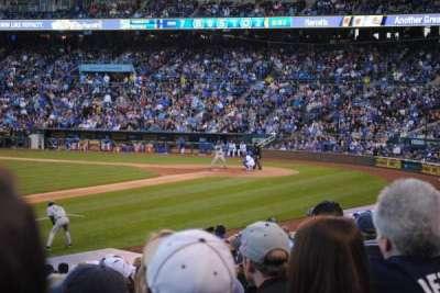 Kauffman Stadium, section: 116, row: T, seat: 1
