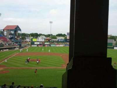 McCoy Stadium, section: 3, row: JJ, seat: 1