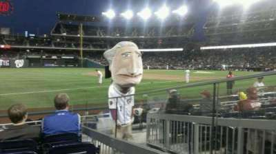 Nationals Park, section: 112, row: H