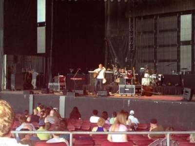 White River Amphitheatre, section: 101, row: 10, seat: 18