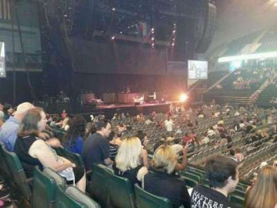 TaxSlayer Center, section: 104, row: 10, seat: 6