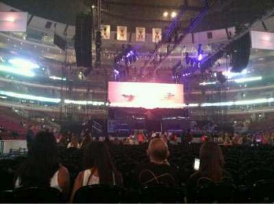 United Center, section: 6, row: 19, seat: 4