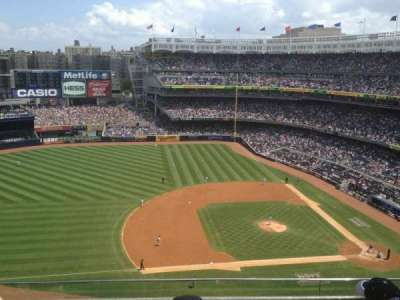Yankee Stadium, section: 425, row: 4, seat: 15