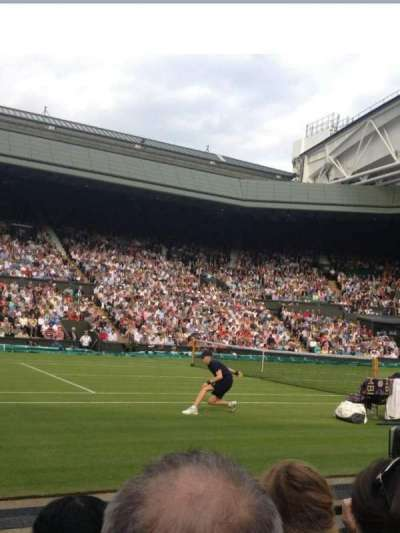 Wimbledon, Centre Court, section: 105, row: C, seat: 063