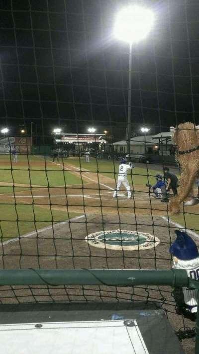 Jackie Robinson Ballpark, section: W, row: 2, seat: 9