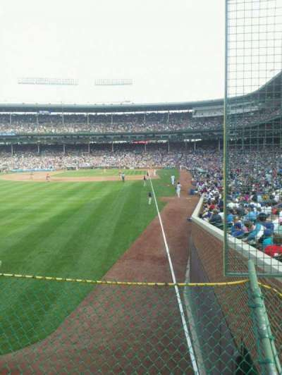 Wrigley Field section 301