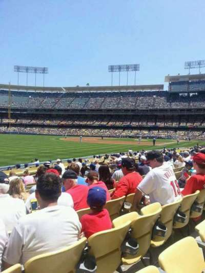 Dodger Stadium, section: 45FD, row: K, seat: 20