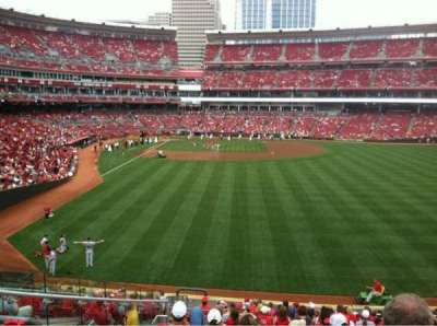 Great American Ball Park section 141