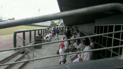 Baseball Grounds of Jacksonville, section: D4, row: D, seat: 10
