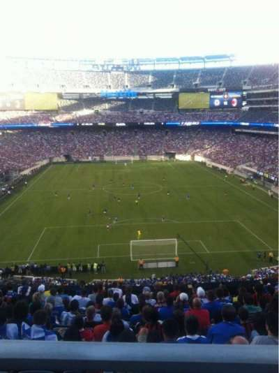 MetLife Stadium, section: 202A, row: 12, seat: 13