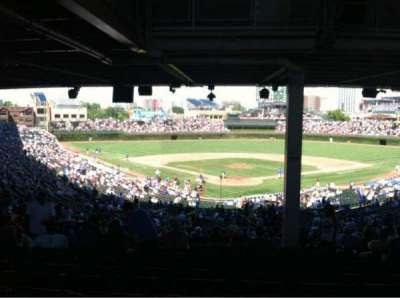 Wrigley Field section 217