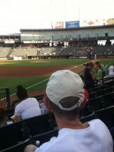 Dell Diamond, section: 112, row: 7, seat: 11