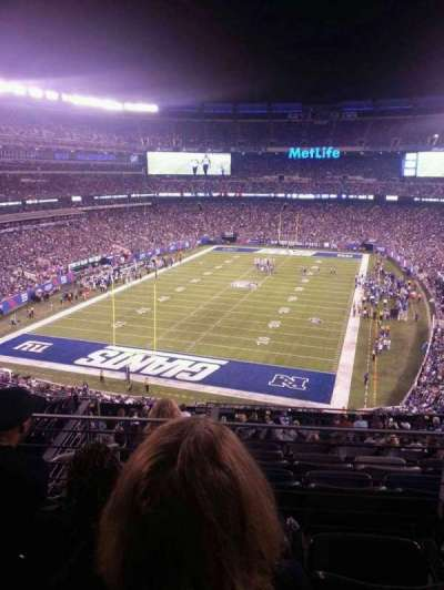 MetLife Stadium, section: 224B, row: 3, seat: 12