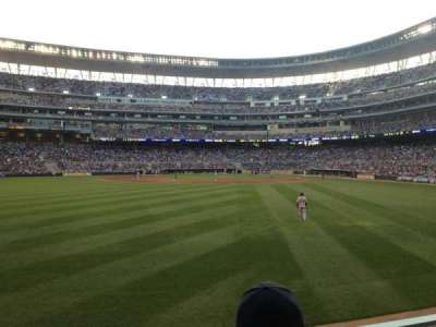 Target Field, section: 130, row: 2, seat: 17