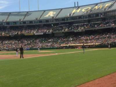 Oakland Alameda Coliseum section 126
