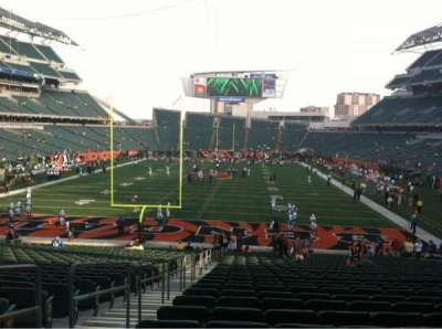 Paul Brown Stadium, section: 124, row: 31, seat: 23