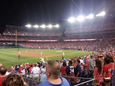 Nationals Park, section: 112, row: AA, seat: 15