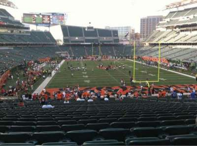 Paul Brown Stadium, section: 156, row: 39, seat: 16