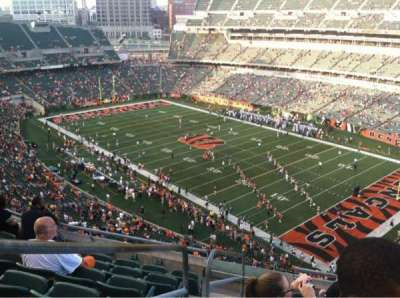 Paul Brown Stadium, section: 303, row: 7, seat: 14