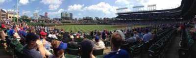 Wrigley Field section 105