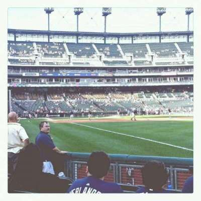 Comerica Park, section: 113, row: 7, seat: 17