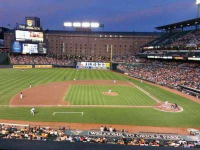 Oriole Park at Camden Yards section 248