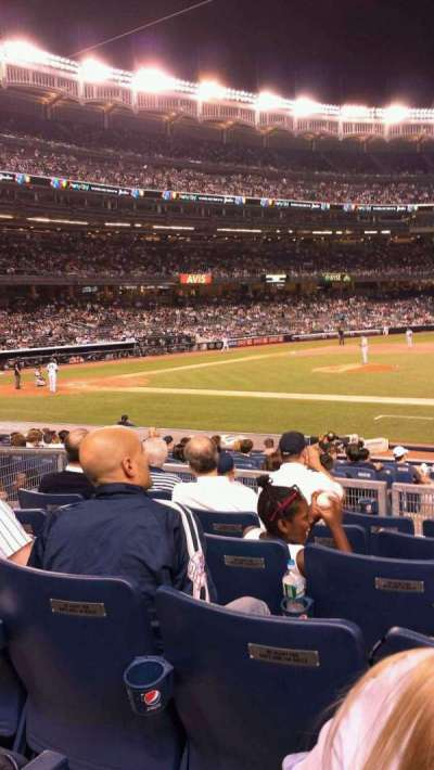 Yankee Stadium section 115