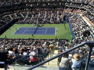 Arthur Ashe Stadium, section: 312, row: B, seat: 2