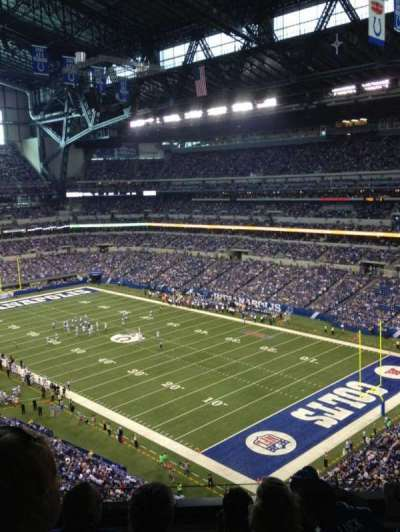 Lucas Oil Stadium, section: 506, row: 5N, seat: 9